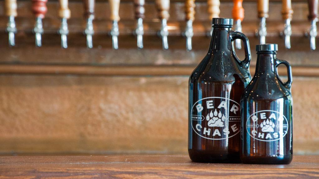 Bear Chase Beer Growlers