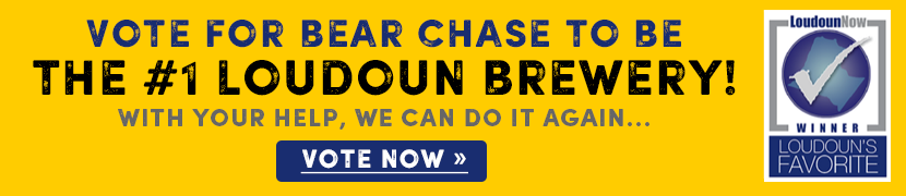 Vote for Bear Chase Best Brewery in Loudoun Now