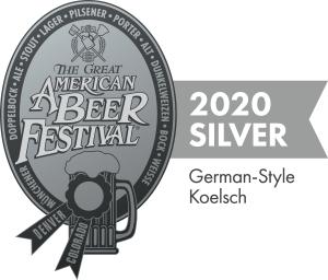 GABF Silver Award Kolsch